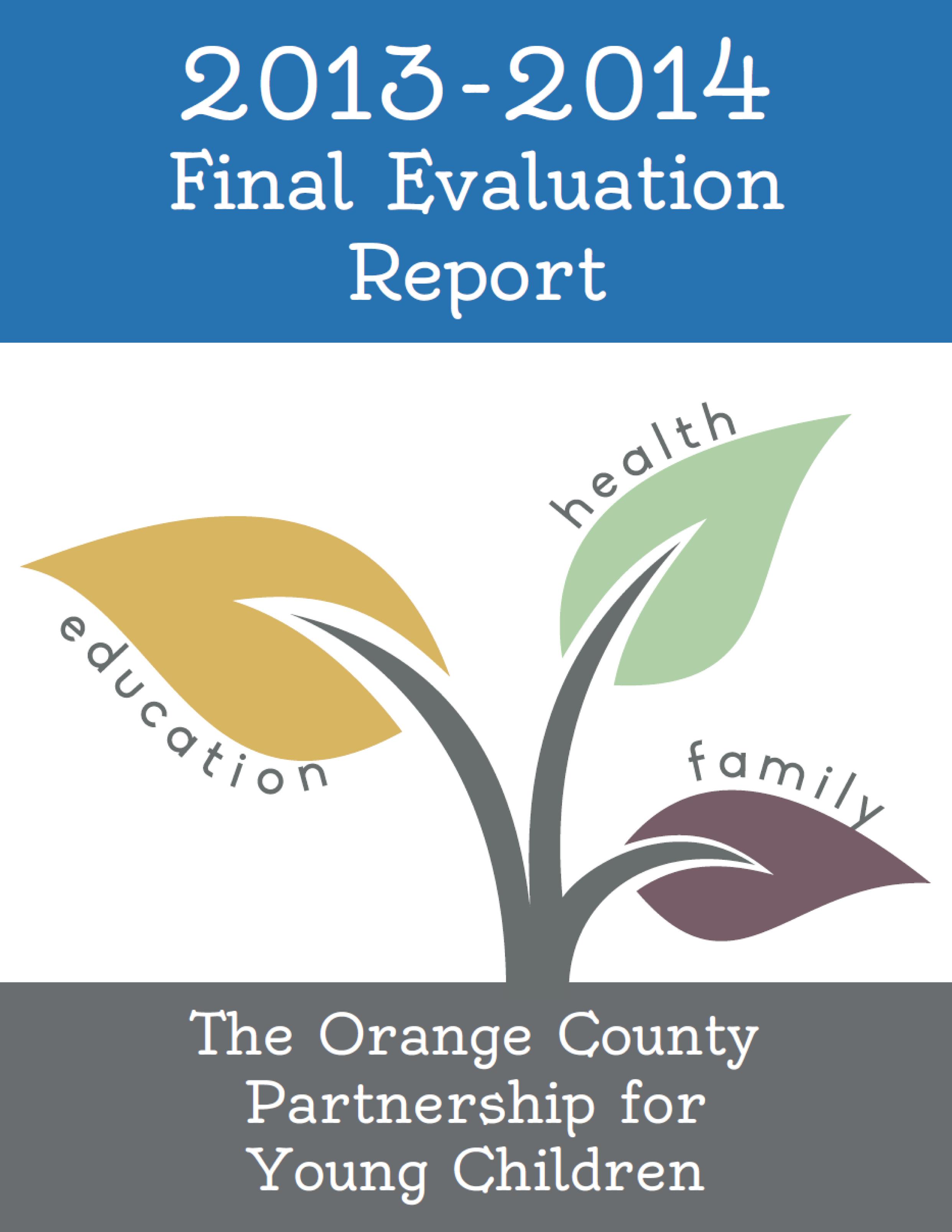 13-14 eval report